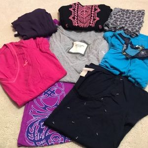Tops - Size small tops bundle (9)